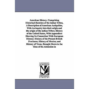 American History Comprising Historical Sketches of the indian Tribes A Description of American Antiquities With An inquiry into their origin and the origin of the indian Tribes History of the Unit by Willson & Marcius