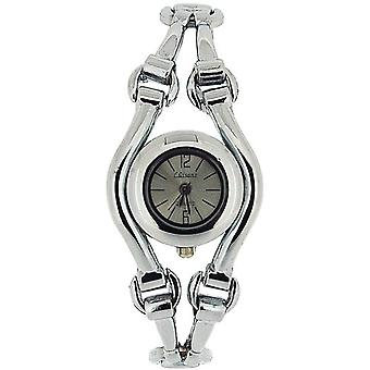 Olivia Collection Damen Silber Zifferblatt Armband Strap Dress Watch COS31