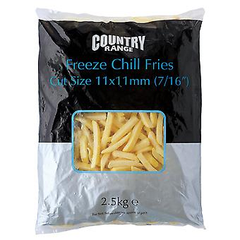 Country Range Frozen Freeze Chill Fries 7/16