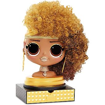 L.o.l. Surprise! 566229e7c O.m.g Head Royal Bee With Stick-on Hair For Endless