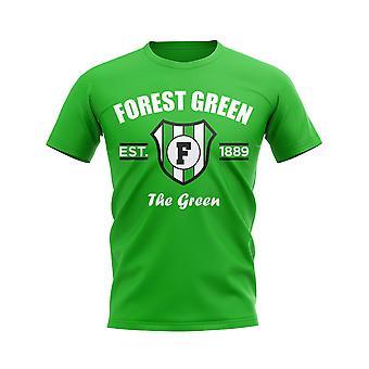 Forest Green Établi T-Shirt de football (vert)