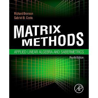 Matrix Methods by Richard Bronson