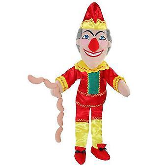 La compagnie de marionnettes marionnette fois pour Punch de l'histoire
