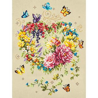 Magic Needle Cross Stitch Kit - Tenderness of Your Heart