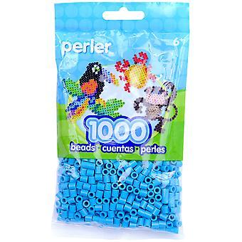 Perler Beads 1,000/Pkg-Turquoise