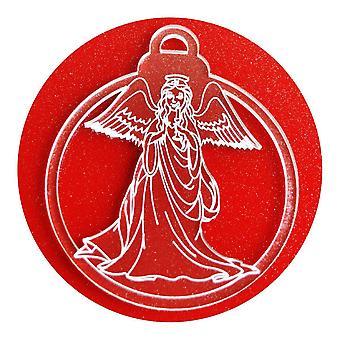 6 Pk 天国天使アクリル クリスマス装飾