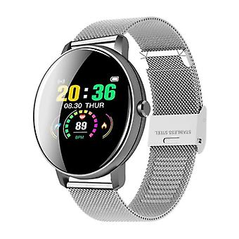 Lige Q5 Plus Sports Smartwatch Fitness Sport Activity Tracker Smartphone Watch iOS Android iPhone Samsung Huawei Silver Metal