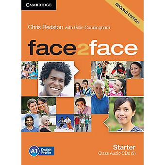 Face2Face starter klasse audio-cd's 3 door Chris Redston