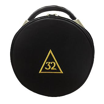 Masonic scottish rite 31 32 33 degrees hat/cap cases