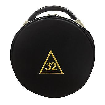Masonic Schotse rite 31 32 33 graden hoed / pet gevallen