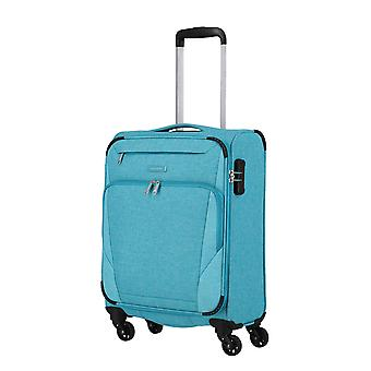 travelite Jakku Handbagage Trolley S, 4 hjul, 54 cm, 33 L, turkos