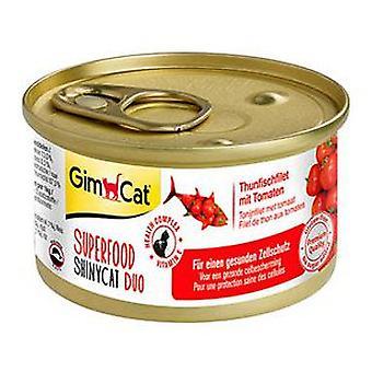 Gimborn Gimcat Superfood Shinycat Duo Atún y Tomatea (Cats , Cat Food , Wet Food)