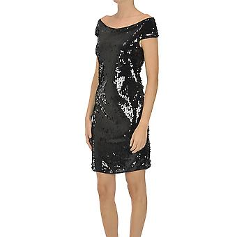 Nualy Ezgl537002 Women's Black Sequins Dress
