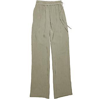 Acne Studios Ak0206grey Women's Green Viscose Pants