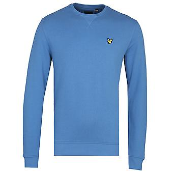 Lyle & Scott Lapis Blue Crew Neck Sweatshirt