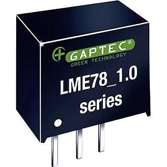Gaptec LME78_15-1.0 DC/DC converter (print) 24 V DC 15 V DC 1000 mA 15 W Nr. van de uitgangen: 1 x