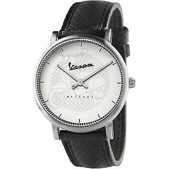 Vespa classy watch for Men Analog Quartz with synthetic leather bracelet VA01CLS-SS01CP