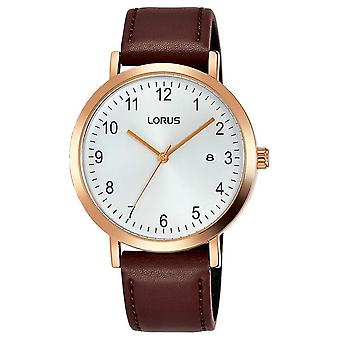 Lorus RH940JX-9 White Dial With Date Wristwatch