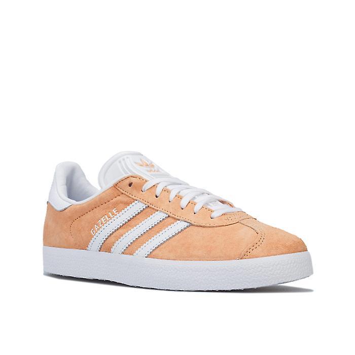 Femmes\'s Adidas Originals Gazelle Trainers En Orange