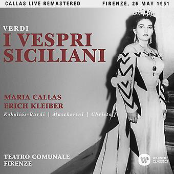Callas*Maria - Verdi: I Vespri Siciliani [CD] USA import