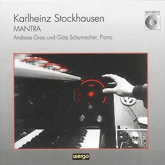 K. Stockhausen - Stockhausen: Mantra [CD] USA import