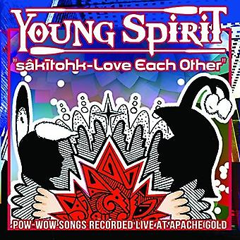 Young Spirit - Sakitohk Love Each Other [CD] USA import