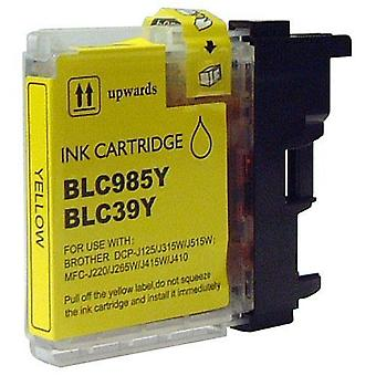 RudyTwos Replacement for Brother LC-985Y Ink Cartridge Yellow Compatible with MFC-J220, J265W, J410, DCP-J125, J315W, J415W, J515W