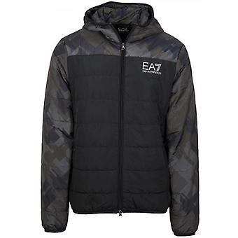 EA7 Black & Khaki Lightweight Jacket