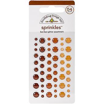 Doodlebug Design Bon Bon Glitter Sprinkles (54kpl) (4543)
