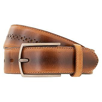 LLOYD Men's Belts Belt Full Cowhide Men's Leather Belt Beige 3423