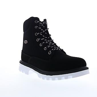 Lugz Empire HI Water-Resistant  Mens Black Lace Up Casual Dress Boots