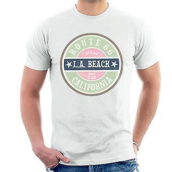 Route 66 Original LA Beach Wear Men's T-Shirt