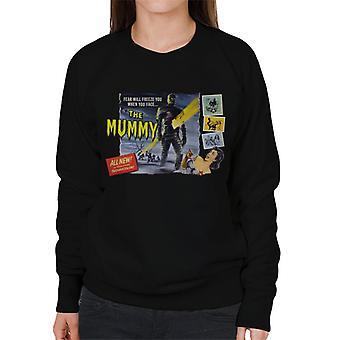 Hammer Horror Films mamma paura vi congelerà donne 's sweatshirt