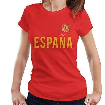 Toff Vintage Football Spain Badge Women's T-Shirt