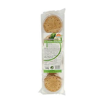 Sugar Free Oatmeal and Apple Cookies 200 g (Apple - Oats)