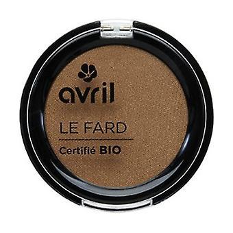 Iridescent hazelnut eyeshadow certified organic 2,5 g of powder