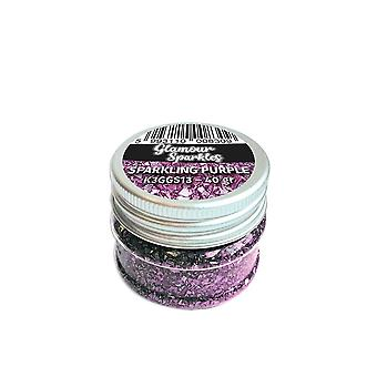 Stamperia Glamour Sparkles Purple (40ml) (K3GGS13)