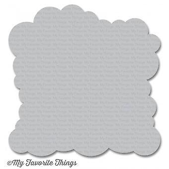My Favorite Things Stencil Cloud
