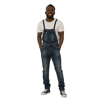 Fergal mens dungarees with detachable bib
