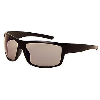 Gafas de sol Unisex negro mate con lente gris (180 P)