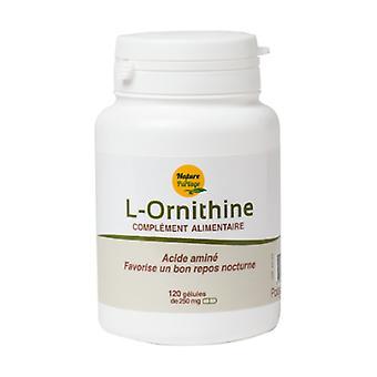 L-Ornithine 120 capsules (250mg)