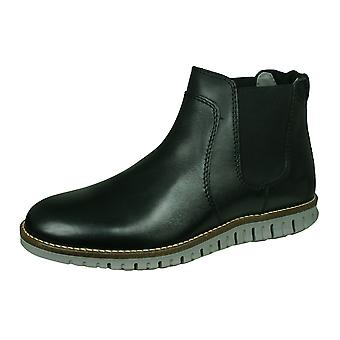 Sledgers Howard Mens Leather Chelsea Boots - Black
