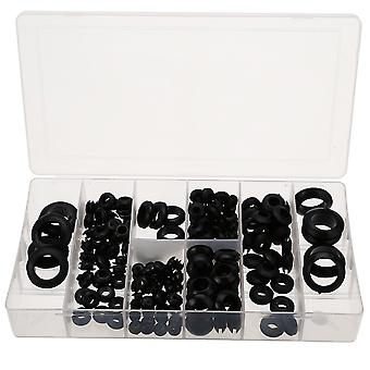 180pc Seal Rubber Grommets -retaining Ring Set