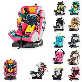 Chipolino Kindersitz 4 Max Gruppe 0+/1/2/3 (0 - 36 kg), Seitenaufprallschutz