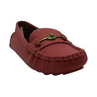 Coach Womens Crosby Almond Toe Loafers