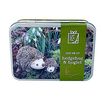 Hedgehog and Hoglet Sew Me Up Sewing Kit - Luxury Gift Item