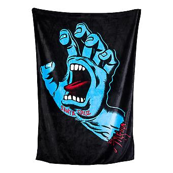 Santa Cruz Screaming Hand Blanket - Black