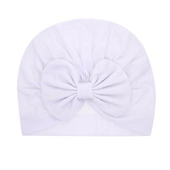 Fasce per neonati Solid Cotton Kont Turban Stretchy Beanie Cappello Cappello Accessori