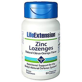 Estensione vita lo zenghe di zinco, 60 Lozenges