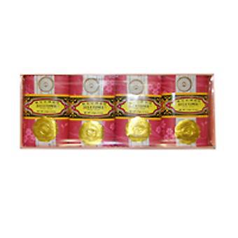 BEE & FLOWER SOAP Bar Soap Rose, 4.4 oz